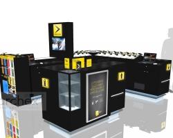 Archex Display Showroom Videotron
