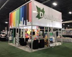 DomFoam Exhibit Idee Colorfull ARCHEX Design