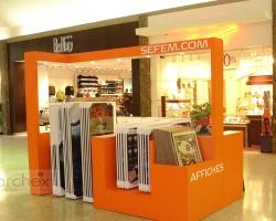 Archex Display Showroom SEFEM Mall Kiosk