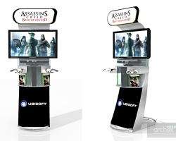 Archex Display Showroom Ubisoft AC Pods