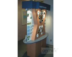 Archex Display Showroom Lightolier