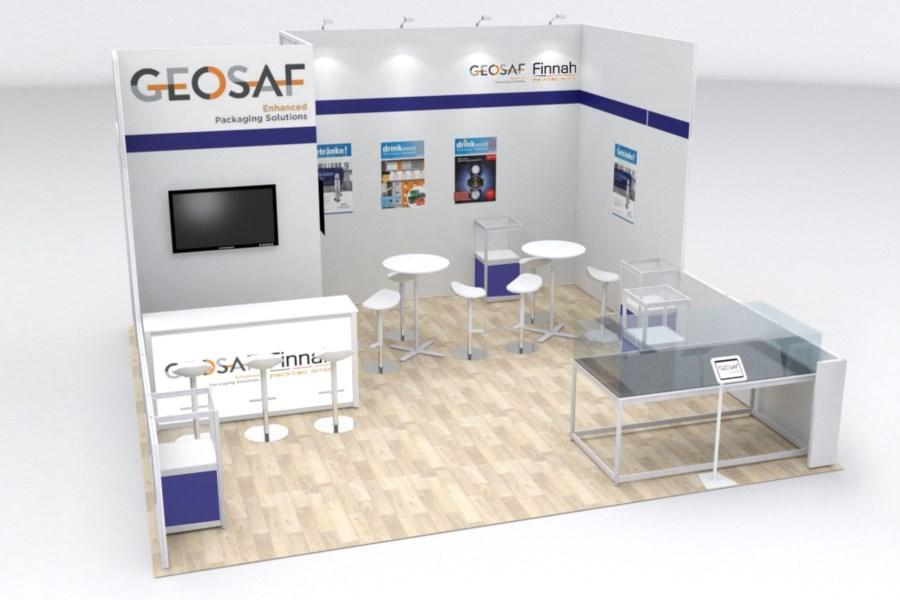 Archex rental exhibits – Geosaf 2021
