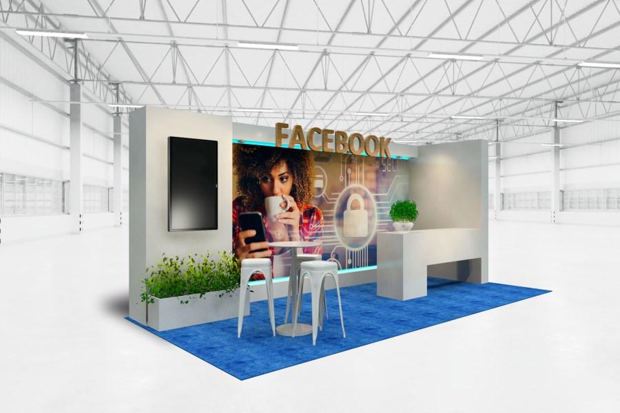 Facebook 2021 exhibit
